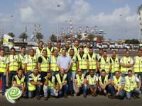 היום החלו 30 עובדים חדשים את קורס הסוורים בנמל אשדוד