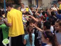 מכבי sce אשדוד ממשיכה בביקורים בבתי ספר
