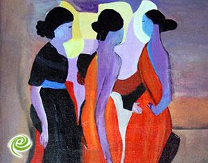 """""""צבע חדש"""" – תערוכה קבוצתית"""