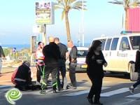 רוכב אופניים נפגע בכיכר הקשתות