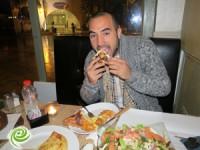 """שף דניאל רחמים מ""""משחקי השף"""" ביקר במסעדת """"פטרה"""""""