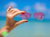 במשקפיים ורודים