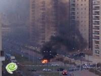 רכב עולה באש בשד׳ בני ברית