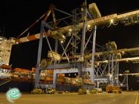 נמל אשדוד שבר הלילה שיא