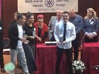 ישי דדון ממקיף ד' נבחר לנואם הצעיר הארצי