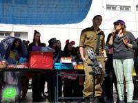 תלמידים הכינו משלוחי מנות לחיילי פלוגת גבעתי