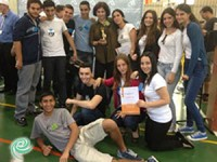 תלמידים ממקיף ט' זכו במקום הראשון