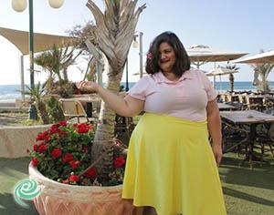 """מעצבת אשדודית באירוע האופנה הגדול: """"יפה בכל צורה"""""""