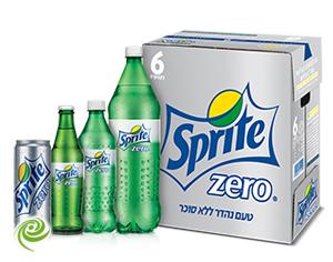 ספרייטZERO מושק בישראל!