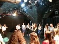 תלמידי מקיף ד' התארחו בתיאטרון הערבי-עברי ביפו
