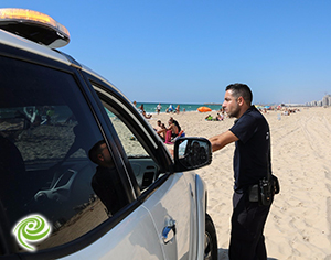 police plage 3