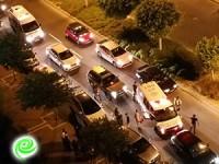נהג פגע ברוכב אופנוע – לא אירוע בטחוני