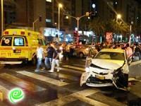 תאונה עם נפגעים ברובע הסיטי