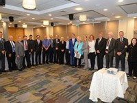 """בכירים מגרמניה ביקרו באשדוד לקדם שת""""פ עם מרכז החלל"""