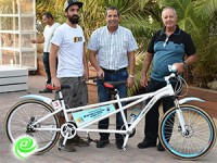אופניים לבעלי מוגבלויות נתרמו ע״י רשות הספורט