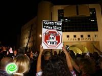 אשדוד נשארת אדישה… כ-200 איש הגיעו להפגנה
