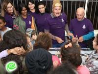 סיירת סופגניות של מתנדבי אדמה אגן