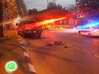 הרוג בתאונת אופניים בשד׳ הרצל הבוקר