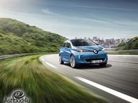 רנו גאה להציג: חשמלית 100% -Renault ZOE