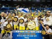 הרביעית ברצף: מכבי בנות אשדוד שוב אלופת המדינה!