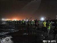 הצלחה ענקית למרוץ הלילה הראשון בישראל