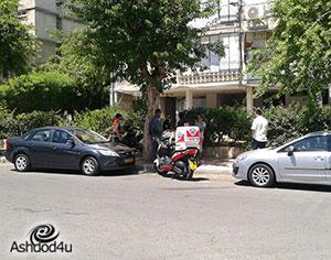 בן 45 נפל אל מותו ברח׳ ההסתדרות באשדוד