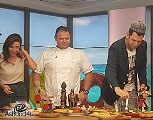 """מסעדת פטרה ב""""בוקר חם"""" בערוץ 2"""