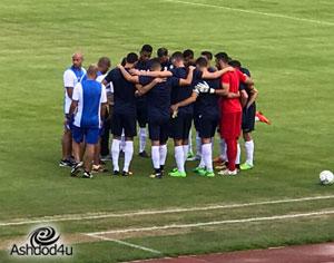 1-1 למ.ס אשדוד במשחק האימון הראשון בסלובניה