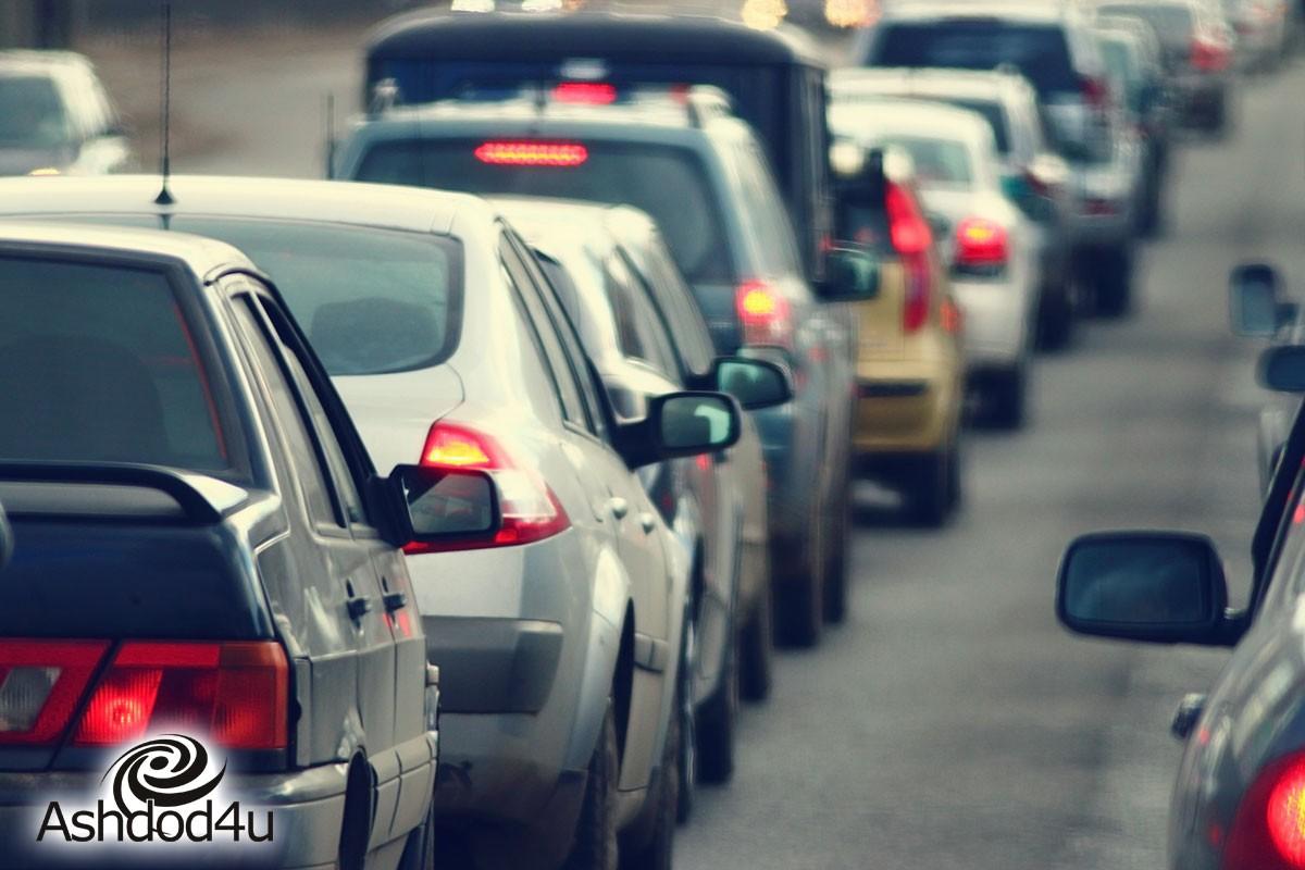 סגירות כבישים בשד' מנחם בגין לכיוון מזרח