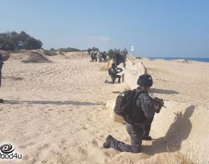 תרגיל צבאי מתקיים בחופי אשדוד – לא להילחץ