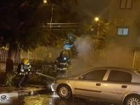 כוחות כיבוי וביטחון הוזעקו בעקבות רכב בוער