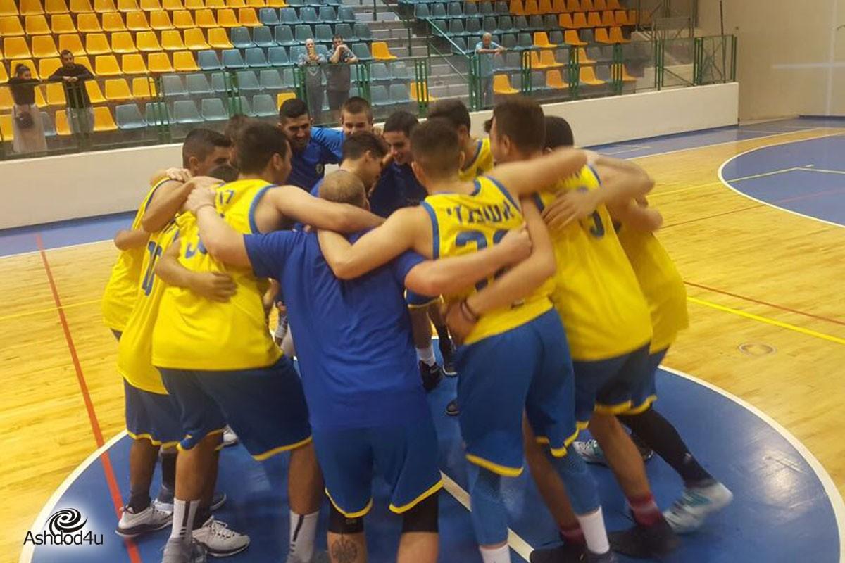 יש כדורסל באשדוד – הנוער של אשדוד על המפה