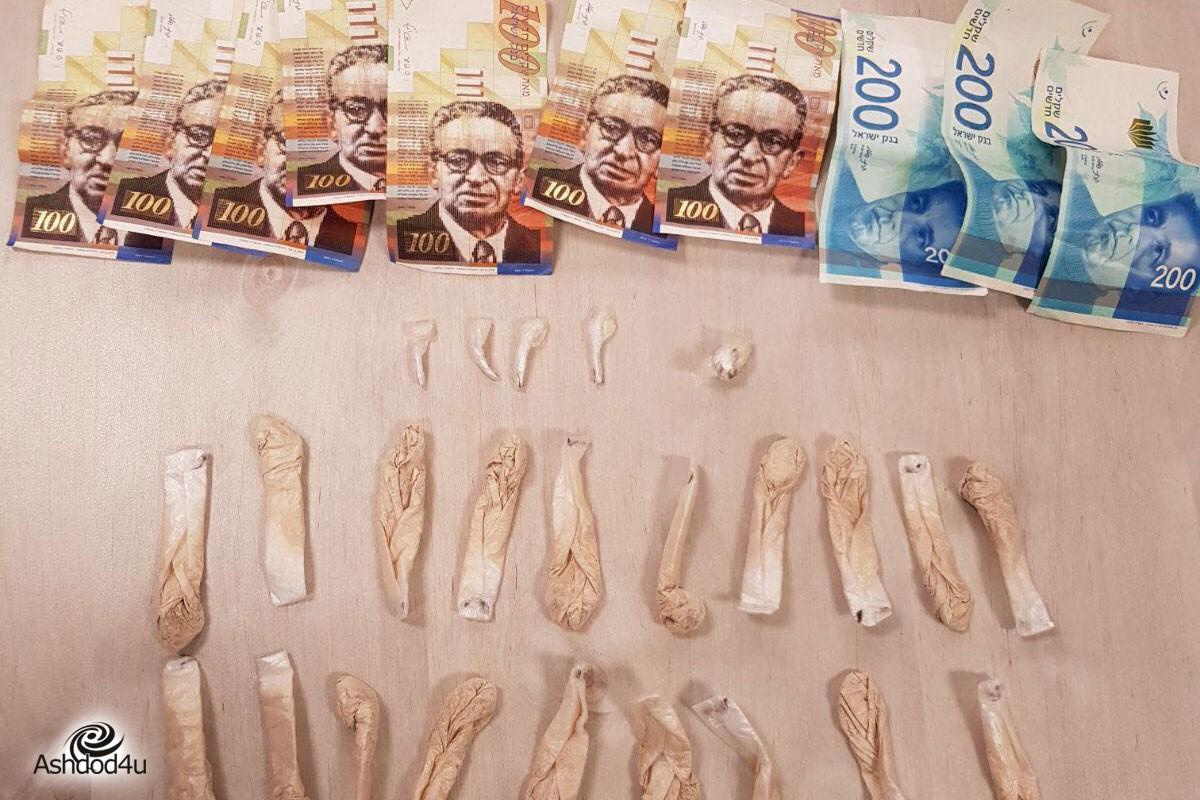 תושב העיר, 53, נעצר כשברשותו עשרות גר׳ של חומר חשוד כסם מסוג קוקאין והרואין