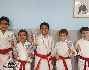 תחרות קראטה – אליפות מכבי אשדוד השנייה