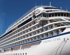 אניית הקרוז המפוארת Viking Sta עגנה באשדוד