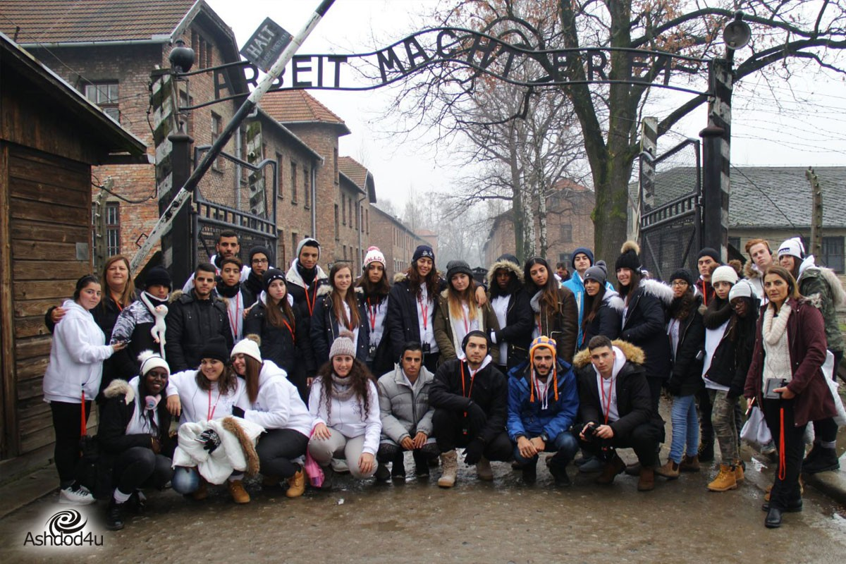 תלמידים מספרים על המסע לפולין