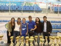 Kinder + Sport ומח׳ הנוער של מכבי אשדוד צבעו את ההיכל