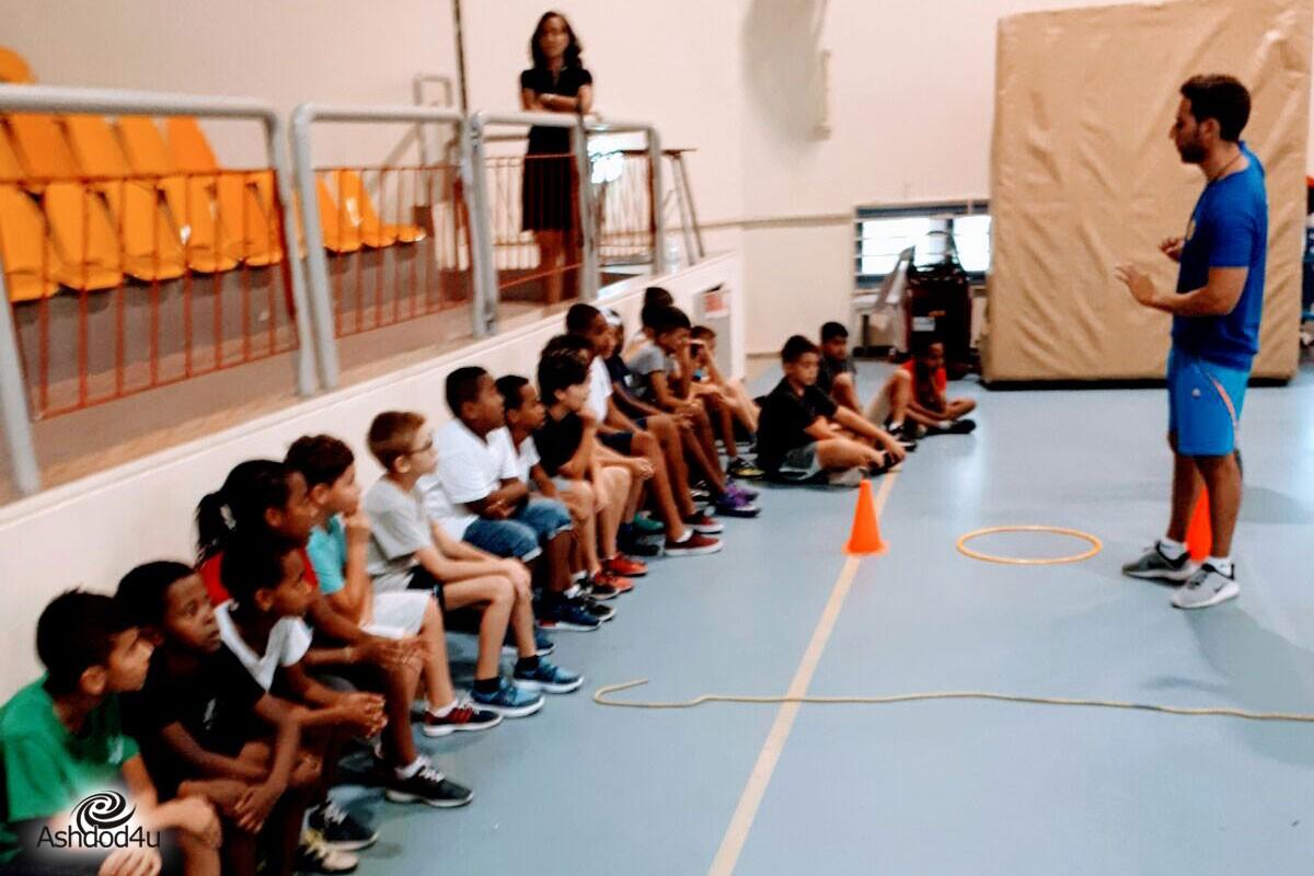 מכבי אשדוד עושים קהילה – העצמה אישית באמצעות כדורסל