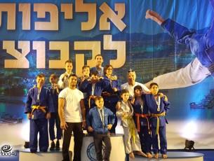 12 מדליות באליפות הג׳ודו הארצית