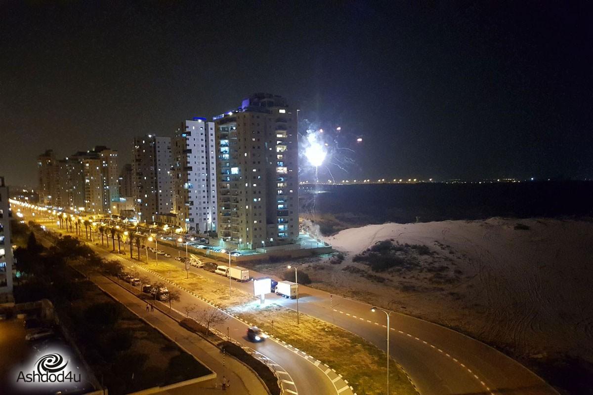 דיווח ראשון: לראשונה באשדוד – זיקוקי די נור בערב שישי