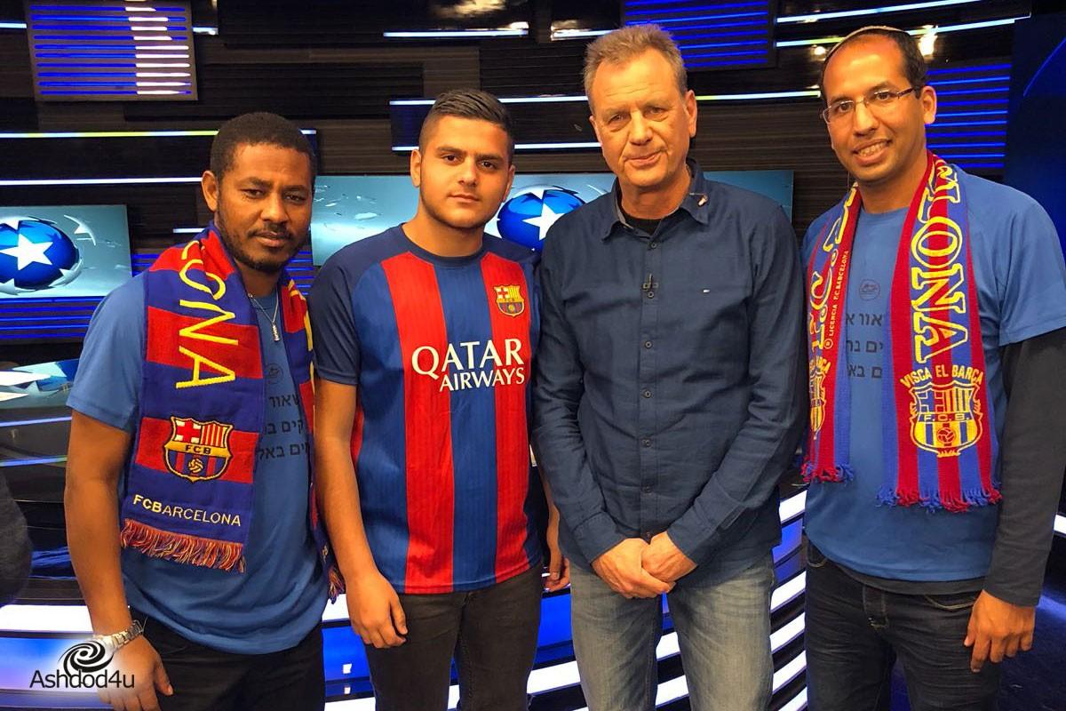 נבחרת 'מגרשאור' בערוץ הספורט