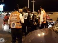 חמישה נפגעים במצב קל בתאונה