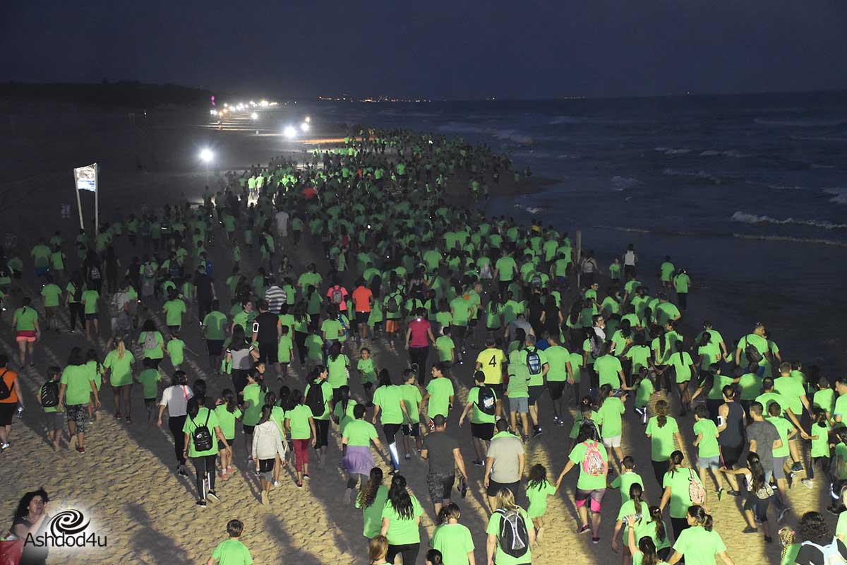 ברביעי, מרוץ הלילה בשיתוף חיילי גולני