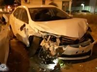 4 נפגעים בתאונה ברח׳ הראשונים