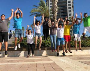 מעל 1,000 בני נוער בפרוייקט ״חופיקס״ של עיריית אשדוד