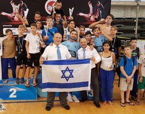 14 מדליות בג׳ודו לאשדוד באליפות הפתוחה בקפריסין