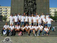 משלחת עובדי חברת נמל אשדודחזרה ממסע למחנות ההשמדה בפולין