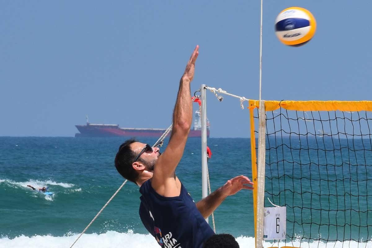 סופ״ש באשדוד – אליפות ישראל בכדורעף חופים