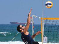 חוף הספורט מארח את אליפות ישראל בכדורעף חופים