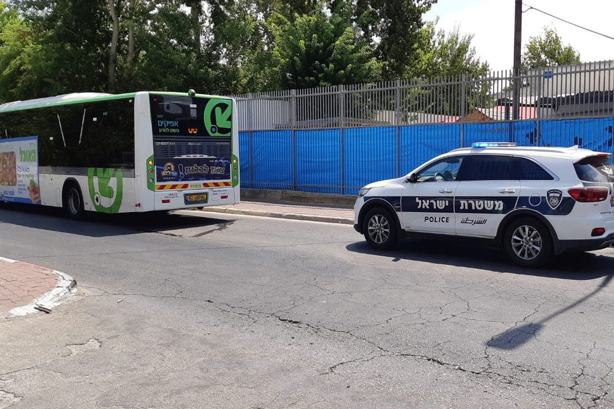 """נהג אוטובוס כבן 58 הותקף ע""""י מספר בני מיעוטים שנמלטו"""